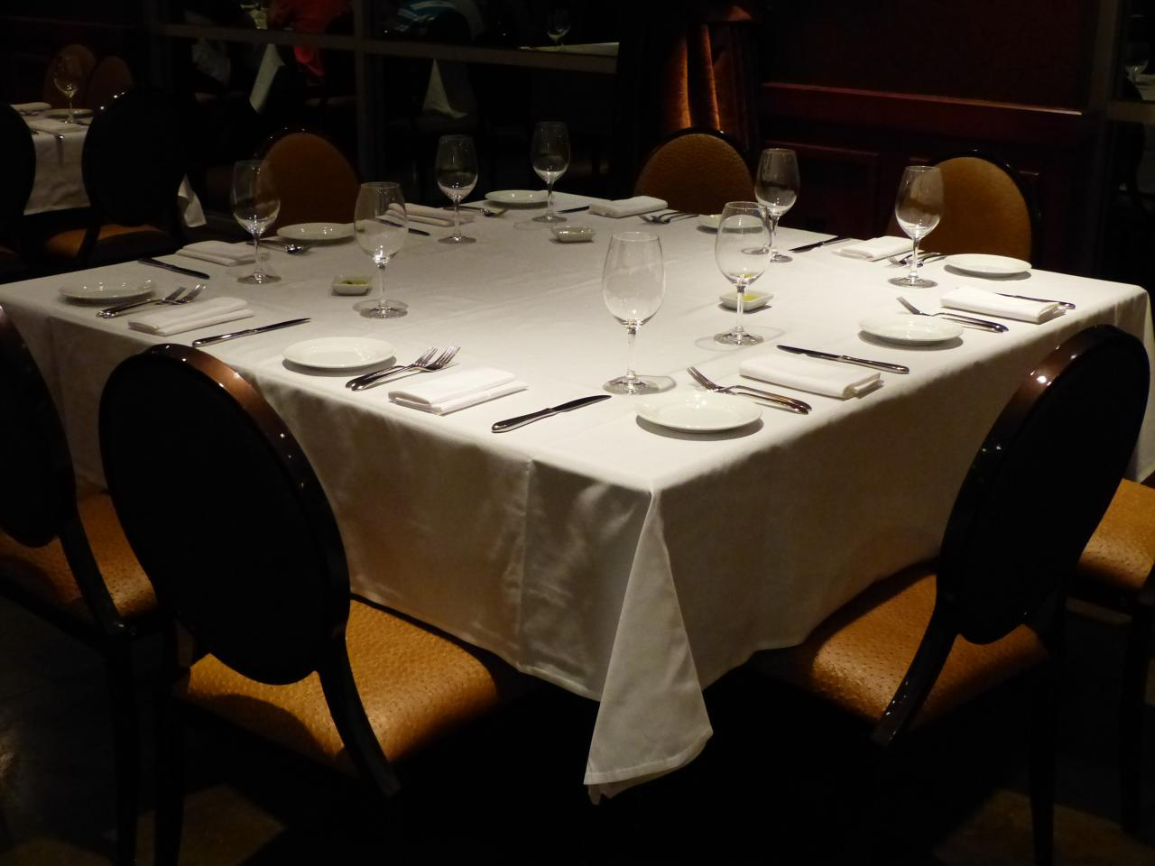 Simple restaurant table setting - The Menu Is Fantastic And Has Options For Any Palate What You Must Know Before Venturing In For Dinner Or Even Lunch Is That This Is Not An Inexpensive