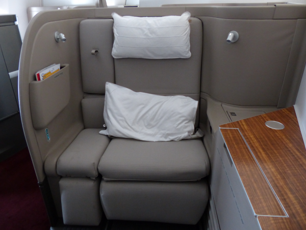 REVIEW: Cathay Pacific NEW 777-300 First Class